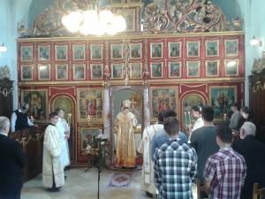 Püspöki liturgia 2017.05.14. a Szent Efrém kórussal